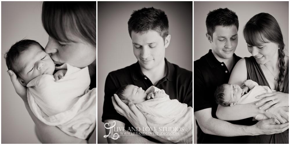 Minneapolis St. Paul Minnesota Newborn Family Photography   Live and Love Studios