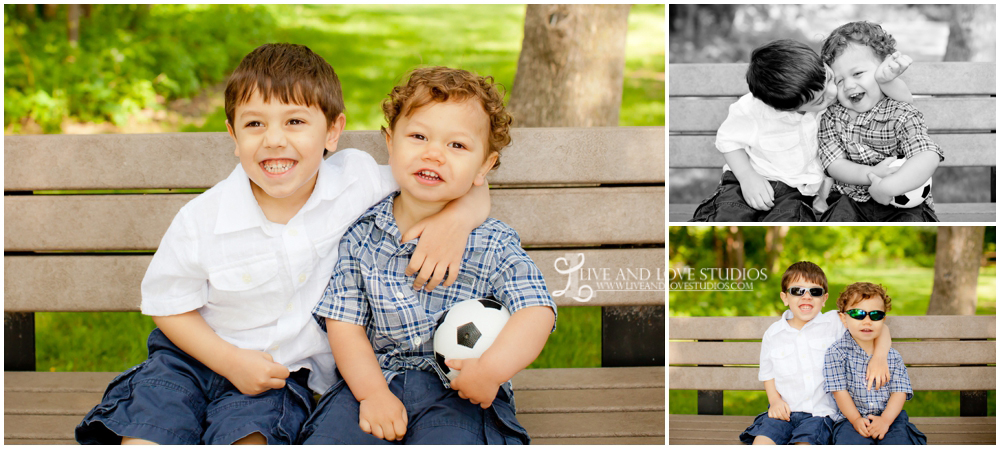 Plymouth MN Family Photography Brothers | Live and Love Studios