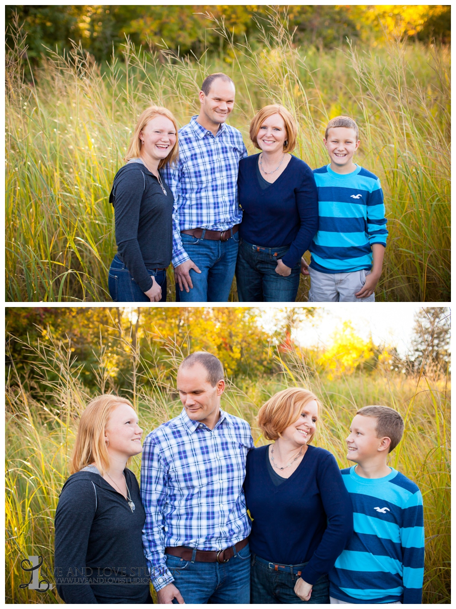 Minneapolis St. Paul MN Family Photography in a field | Live and Love Studios