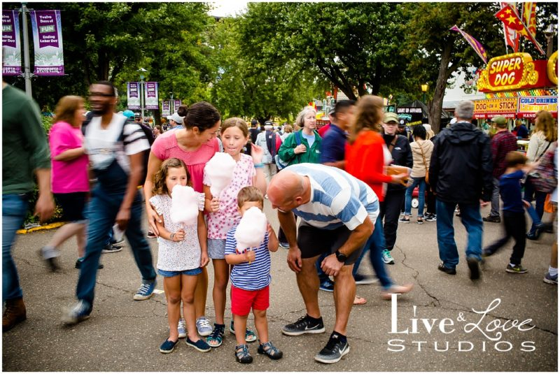 Cianna, Louisa, and Vinny :: St. Paul MN State Fair Family Photography